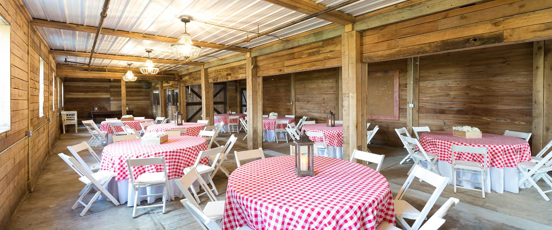 St Joe Farm Event Barn